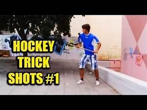 hockey trick shots | João Chalupa - YouTube