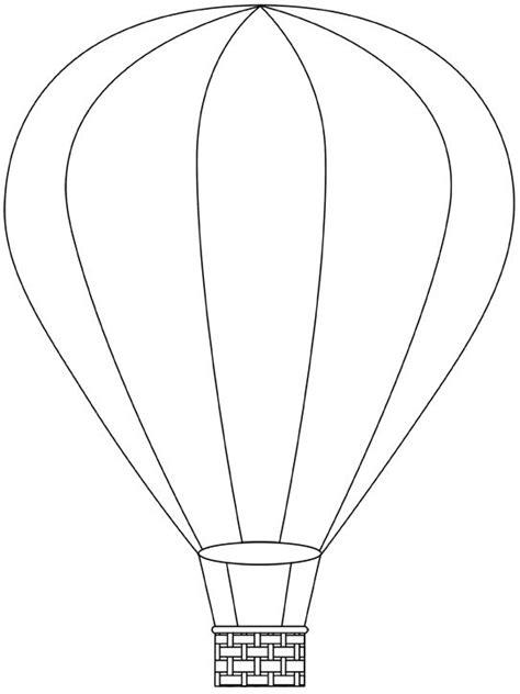 Air Balloon Template Air Balloon Printable Template Free Digital Air