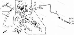 Honda Motorcycle 1984 Oem Parts Diagram For Clutch Master