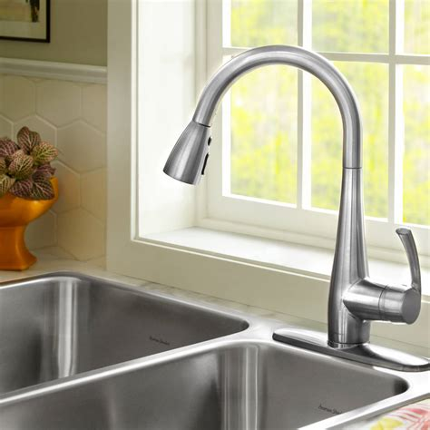 quince  handle pull  high arc kitchen faucet