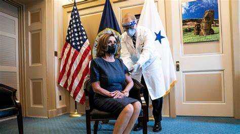Pelosi, McConnell Get COVID-19 Vaccine, Urge Others to Do ...