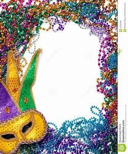 Mardi Gras Border Clipart - Clipart Suggest