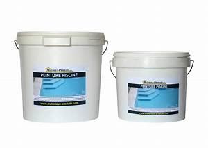 Peinture Pour Piscine : peinture pour piscine resine acrylique couleurs blanche ~ Nature-et-papiers.com Idées de Décoration