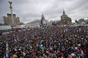 Kiev, Ukraine - Ukraine Sees Largest Anti-Govt Protest ...
