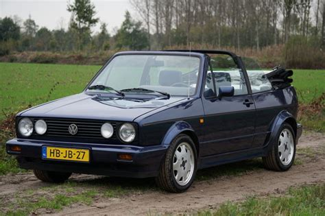 vw golf 1 cabrio volkswagen golf 1 cabriolet 1 8i 1993 catawiki
