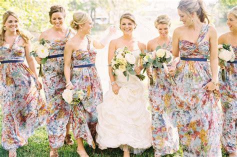 Southboundbride Floral Print Bridesmaids 006 Southbound