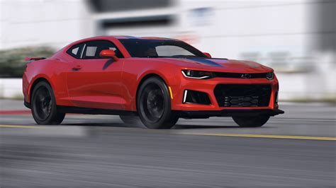 Chevrolet Camaro by Chevrolet Camaro Zl1 2017 Add On Replace Animated