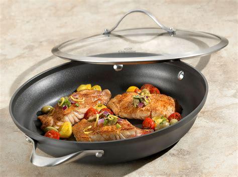 calphalon contemporary nonstick everyday braiser pan  cutlery
