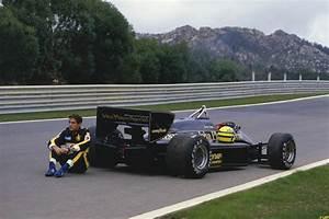 Ayrton Senna's Lotus 97T Senna