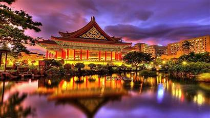 Oriental Palace Desktop Wallpapers Chinese Background Backgrounds