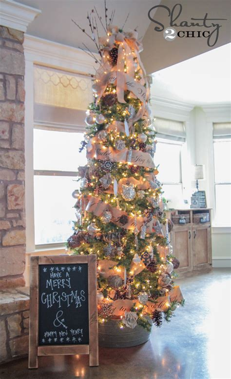 Tree Decorating Ideas Pictures by Chalkboard Easel Diy Shanty 2 Chic