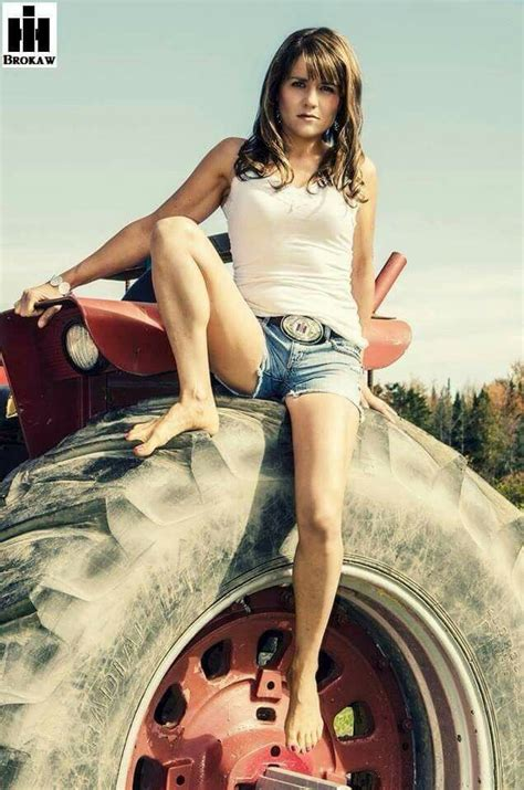 best tractors images on Pinterest   Country girls