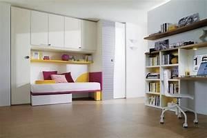 Chambre Fille Petit Espace : chambre ado fille 40 id es d co qui vont vous faire ~ Premium-room.com Idées de Décoration