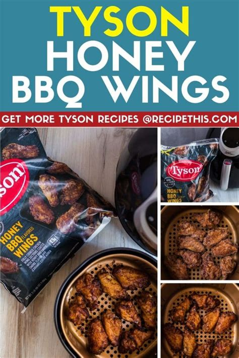 chicken tyson air fryer recipes wings recipe frozen patties recipethis