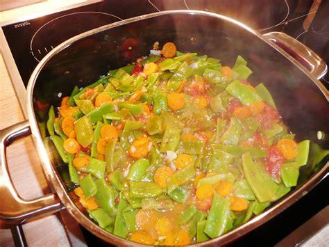Bohnen-Gemüse - Vegetarische Rezepte