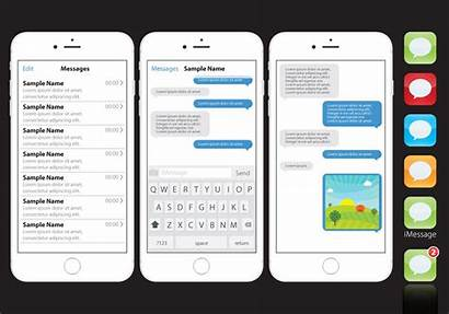 Iphone Message Imessages Graphics Vectorified