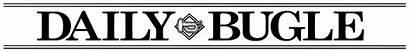 Bugle Daily Newspaper Header Symbol York Hey