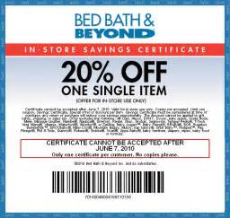 Coupons Bed Bath Beyond Picture