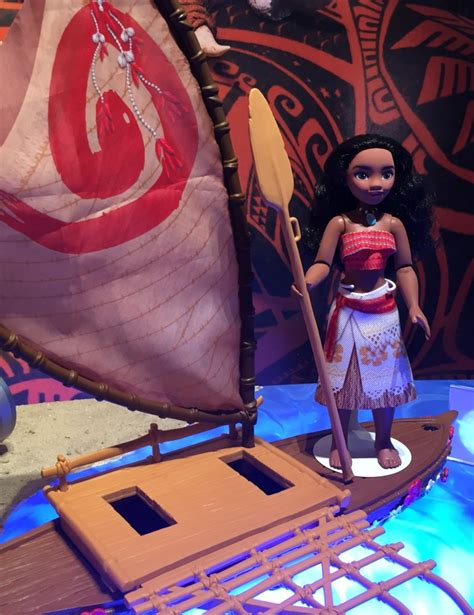 Hasbro Moana Boat by Fair 2016 Hasbro S Moana Frozen Disney Princess