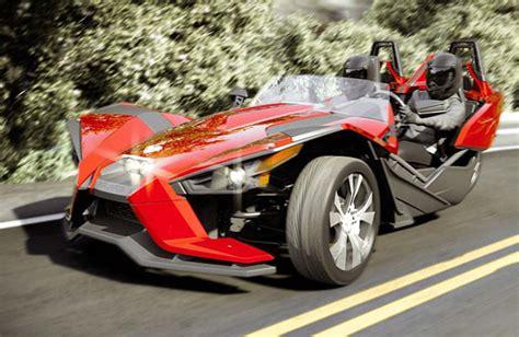 Polaris Slingshot 3-wheel Roadster Looks Like An