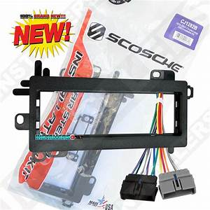 Aftermarket Radio Install Dash Kit  U0026 Wiring Harness For