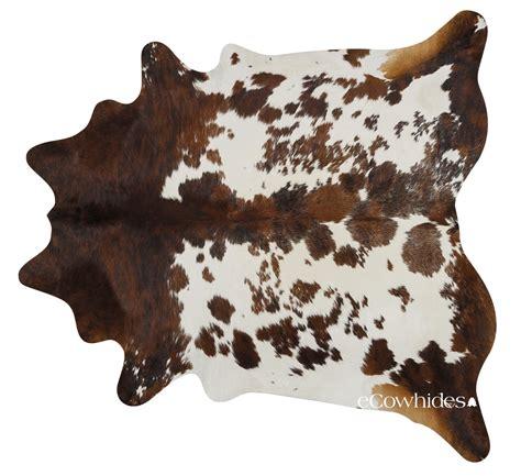Cowhide Rug by Tricolor Cowhide Rug Large
