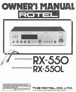 Rx-550 Manuals