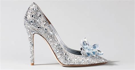 stunning cinderella inspired wedding shoes praise