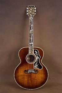 Gibson SJ 200 Koa Master Museum Custom Acoustic Guitar J ...
