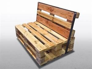 Couch Aus Paletten : paletten sofa zweisitzer ~ Markanthonyermac.com Haus und Dekorationen
