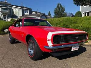 1967 Chevrolet Camaro Real Rs  Ss Red Western Car 350ci 4