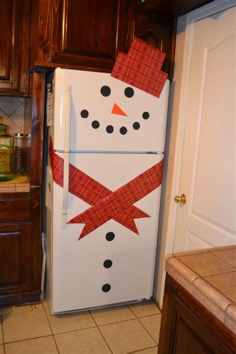 Banister Decorations For Christmas by 8 Creative Handmade Decorating Ideas For Refrigerator