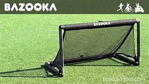 Pop Up Tor : bazooka goal das pop up tor mit dem festen rahmen youtube ~ Watch28wear.com Haus und Dekorationen