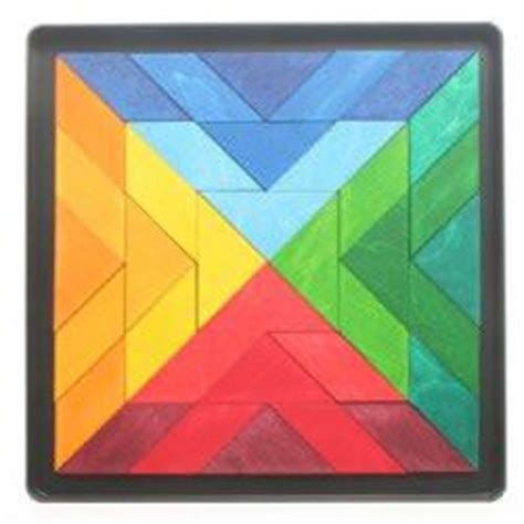 Magna Tiles India by Grimms Wooden Magnetic Tiles Indian Circles Travel Toys