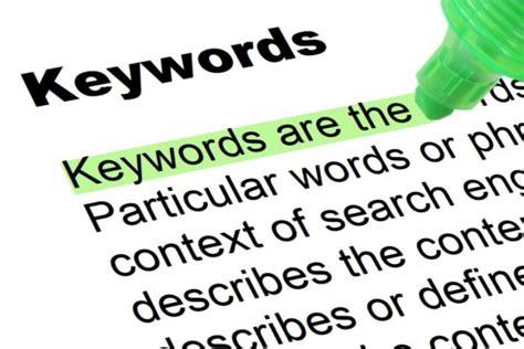 keywords highlighted words  phrases