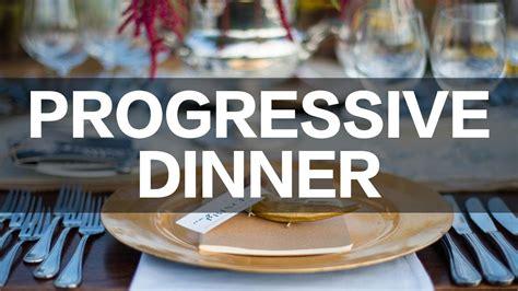 Progressive Dinner  Crossing Community Church