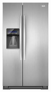 Whirlpool Refrigerator Brand: WSF26C2EXF Whirlpool Side By ...