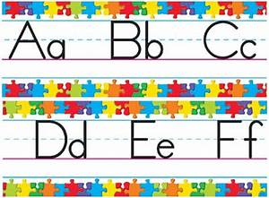 abc border clipart best With abc letters for classroom