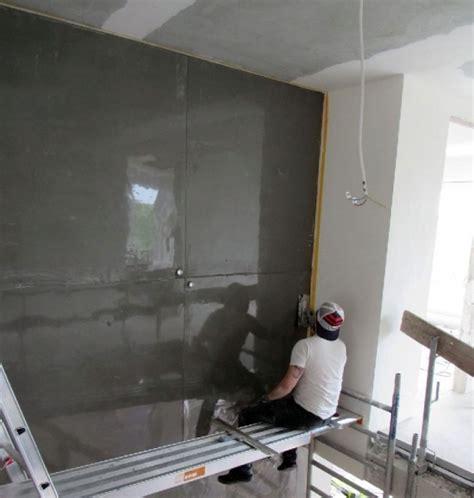 wand in betonoptik wohnideen wandgestaltung maler 8m hohe wandgestaltung in sichtbetonoptik betonlook pur