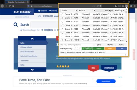 switcher agent manager firefox screenshots