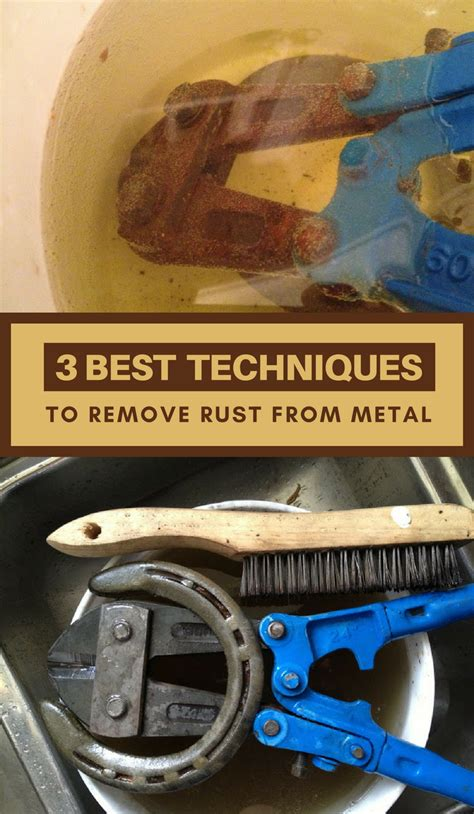 rust metal remove techniques advertisements