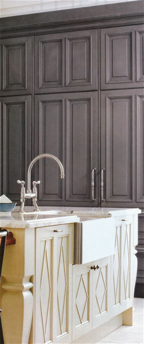 Pewter Kitchen with a Surprise   Interior Design