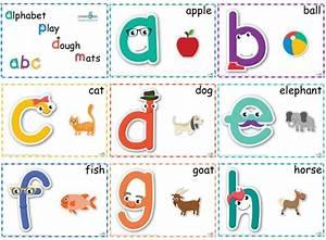 alphabet play dough mats standard print learning 4 kids With playdough letter mats