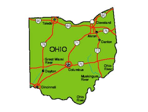 ohio facts symbols famous people tourist attractions