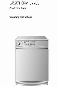 Aeg Lavatherm 57700 Operating Instructions Manual Pdf