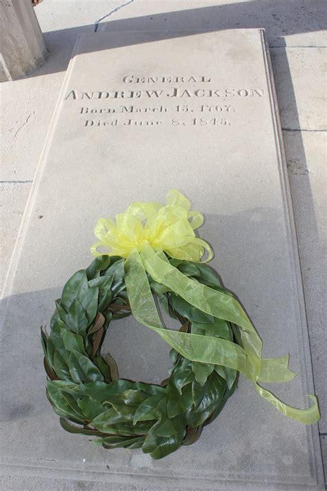 andrew jacksons tomb inscription  hermitage