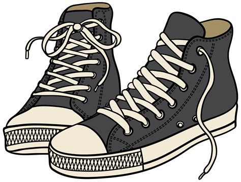 Clipart Shoes Sneakers Clipart Clipground