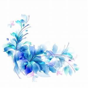decorative backgrounds for word documents blue floral With word documents background images