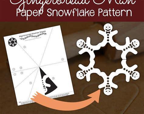 reindeer paper snowflake pattern  digital