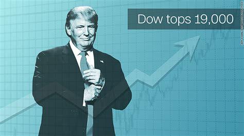 dow hits  high    trump rally continues nov